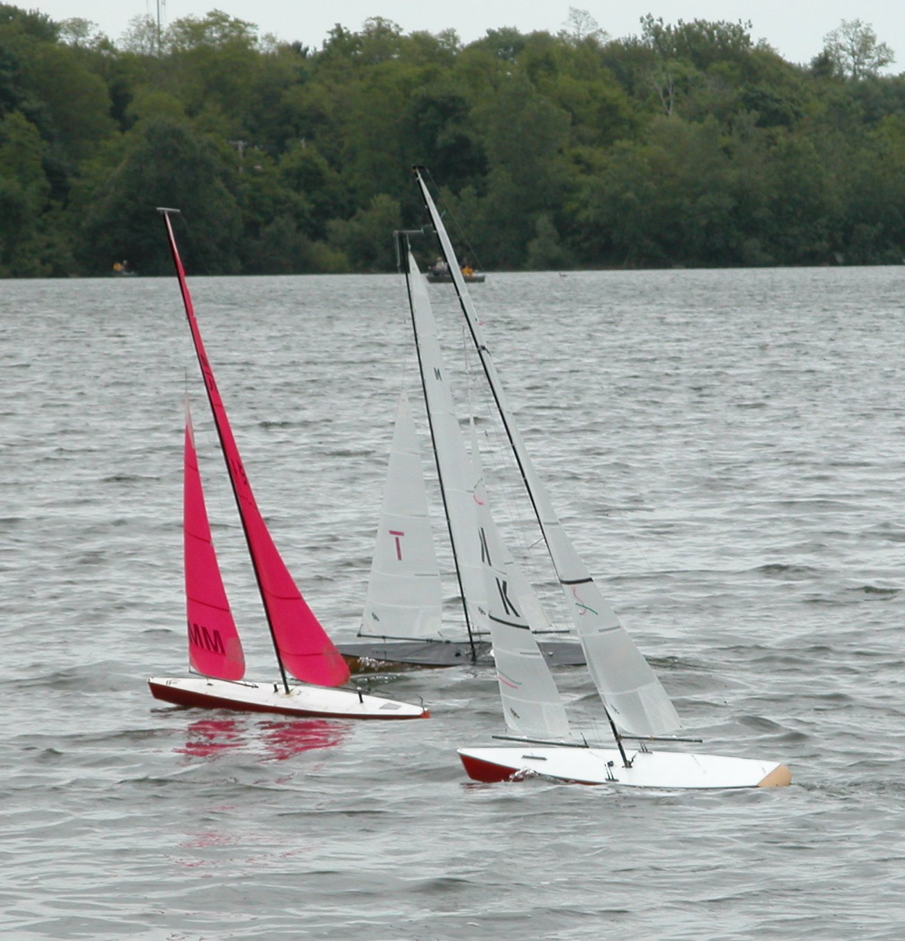 Sailing 50's on Lake Ronkonkoma, NY